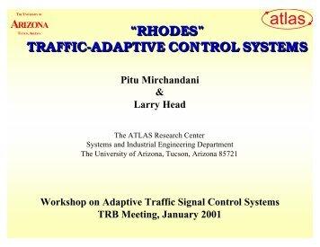 """rhodes"" traffic-adaptive control systems - Traffic Signal Systems ..."