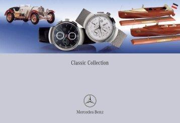 Classic Collection - Accessories.mbusa.com - Mercedes-Benz USA
