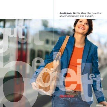 Geschäftsjahr 2012 in Kürze (PDF, 2.4 MB)
