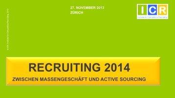 RECRUITING 2014 - Competitive Recruiting