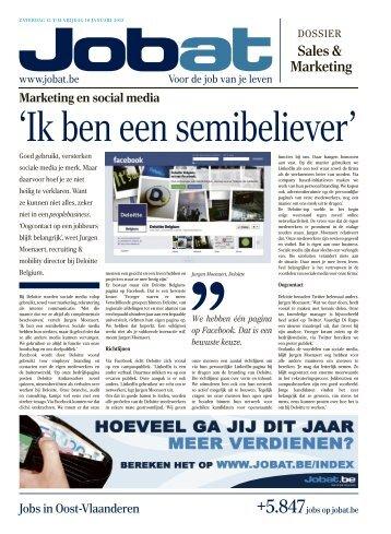 Oost-Vlaanderen - Jobat