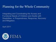 FEMA Strategic Plan - Federal Emergency Management Agency