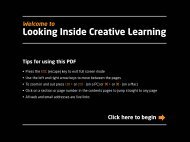Looking Inside Creative Learning - CapeUK