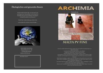 Bodenflyer - Archimia-ag.com