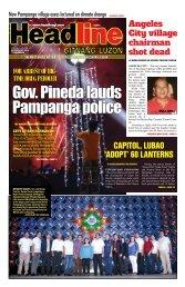 Angeles City village chairman shot dead - Headline Gitnang Luzon