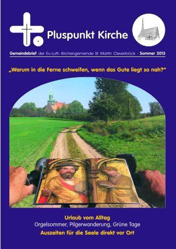 Pluspunkt Kirche - Evangelisch-Lutherische Kirchengemeinden in ...