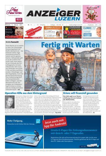 Anzeiger Luzern, Ausgabe 05, 6. Februar 2013