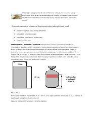 sposoby doraźnej ochrony obwałowań przeciwpowodziowych