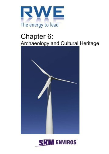 Chapter 6: - National Infrastructure Planning