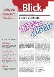 Ausgabe 24/2013 - Weingarten im Blick