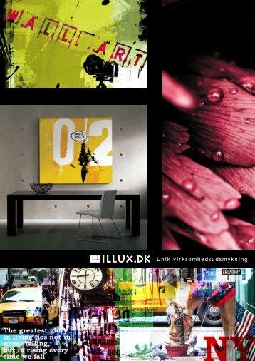 Unik virksomhedsudsmykning - Illux