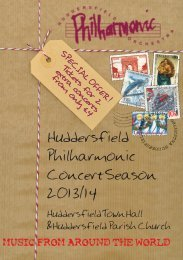 2013-2014 Concert Season Brochure