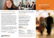 Download Mediation-Flyer - Dr. Fritz & Partner
