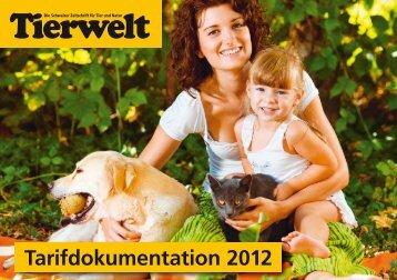 Tarifdokumentation 2012 - Tierwelt