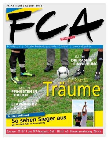 So sehen Sieger aus - FC Adliswil