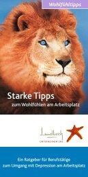 Starke Tipps - Lundbeck