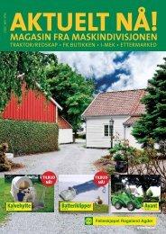 Ny utgave av bladet AKTUELT NÅ - Felleskjøpet Rogaland Agder