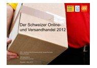 und Versandhandel 2012 - VSV - Verband des Schweizerischen ...