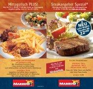Mittagstisch PLUS! Steakangebot Spezial* - Maredo