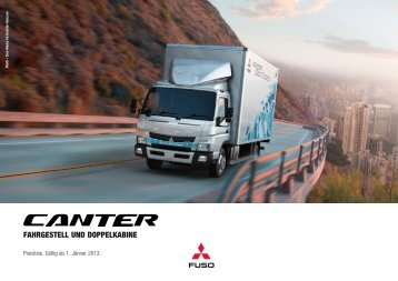 Download Preisliste - Mitsubishi Fuso Canter