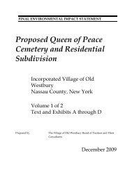 Volume 1 - Text and Exhibits A - D - VHB.com