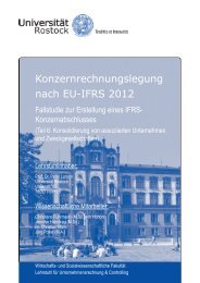 Konzernrechnungslegung nach EU-IFRS 2012 - Wirtschafts