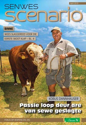 Passie loop deur are van sewe geslagte Passie ... - This is Senwes