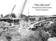 Castlewood Canyon Historic Bridge Rehabilitation