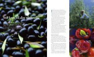 Stil krav til din olivenolie Artikel fra