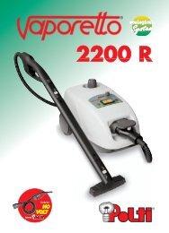 VAPORETTO 2200 R - Polti