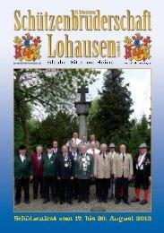 164 Jahre St. Sebastianus Schützenbruderschaft Lohausen 1849 e. V.