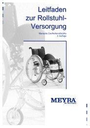 Leitfaden den an der Rollstuhlversorgung - Meyra