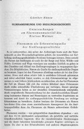 Günther Hänse FLURNAMENKUNDE UND ...