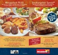 Mittagstisch PLUS! Steakangebot Spezial* - Potsdamer Platz