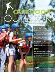 Read More - The Outdoor Education Group