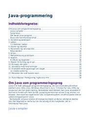 Java-programmering