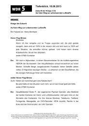 Kriege der Zukunft (1/3). - WDR