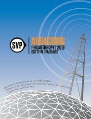 PHILANTHROPY | 2013 - Social Venture Partners
