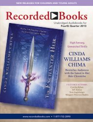 Beginning Reader, Children and Young Adult ... - Recorded Books