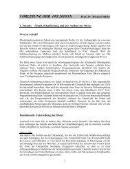 VORLESUNG OHR (WS 2010/11) - wwwuser