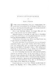 Knud E. Hansen: Forstævnsformer, s. 130-175