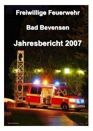 Jahresbericht 2007 - Feuerwehr Bad Bevensen