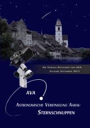 Sternschuppen-Ausgabe September 2013 - Astronomische ...