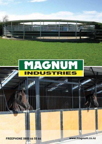 New Magnum Brochure - Magnum Industries Ltd