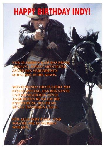 """Indiana Jones"" Special - Sonnige Sendung"