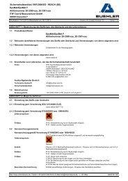 EpoMet F / G - Buehler GmbH