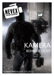 BÜHNE & LICHT - NEVEX - Kameraverleih Dortmund