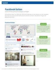 Facebook-Seiten - Fanpage Design für Ihr Marketing bei FACEBOOK