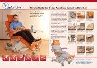 Prospekt Therapieliegen - Therapieliegen von Bionic