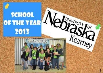 University of Nebraska – Kearney - MACURH